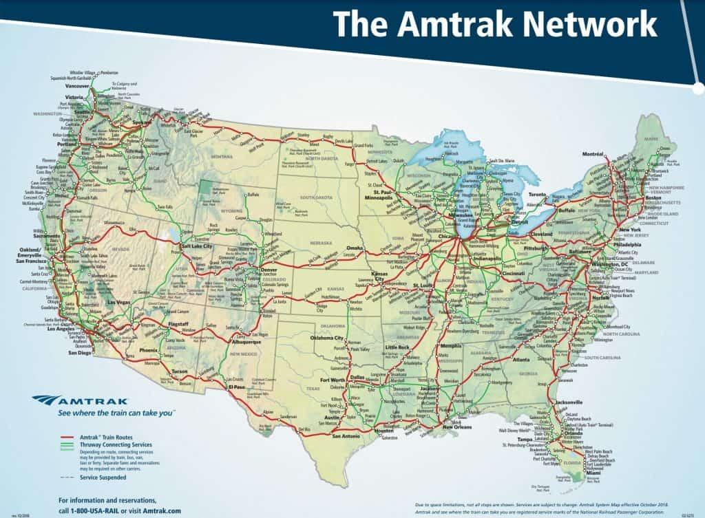 Amtrak USA Rail Pass