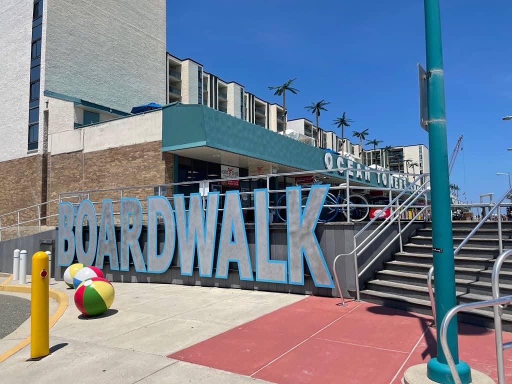 Wildwood Doo-Wop Boardwalk Sign